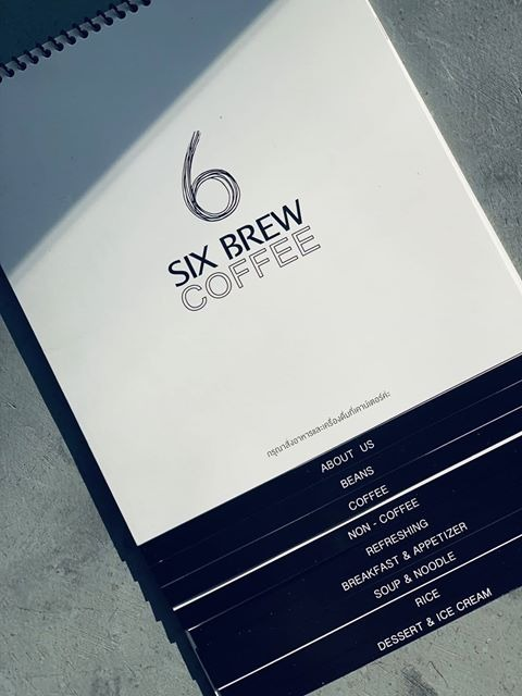 ร้าน Six Brew Coffee